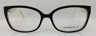 NEW AUTHENTIC KOALI 6943K COL NW050 BLACK PLASTIC EYEGLASSES FRAME (FRANCE) 54MM