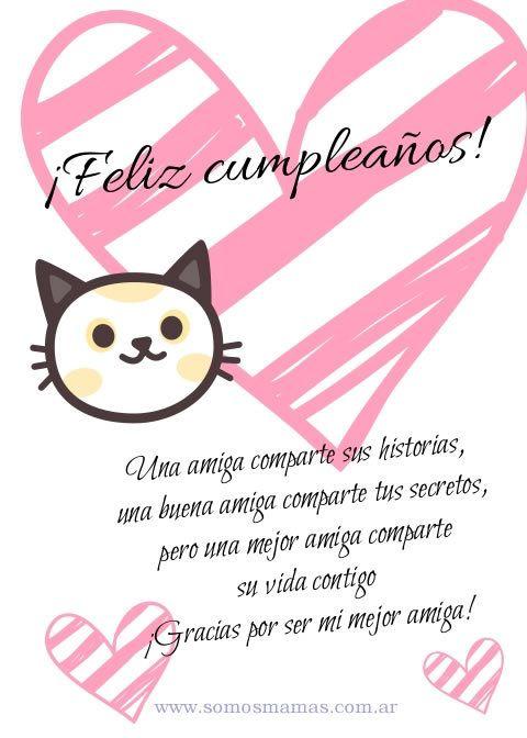 Tarjetas De Cumpleaños Para Una Amiga Para Dedicar Imprimir Y Regalar Cumpleaños Amiga Especial Feliz Cumpleaños Amigo Especial Cumpleaños Amiga