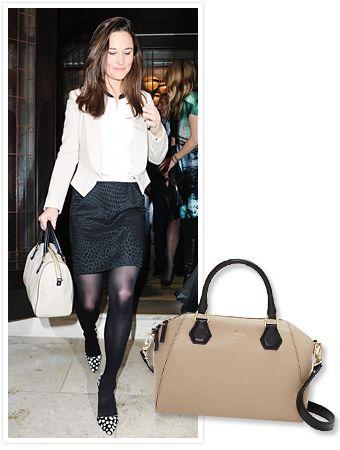 7a4e62b7a1ec Pippa Middleton s Wore Kate Spade New York s Pippa Bag!
