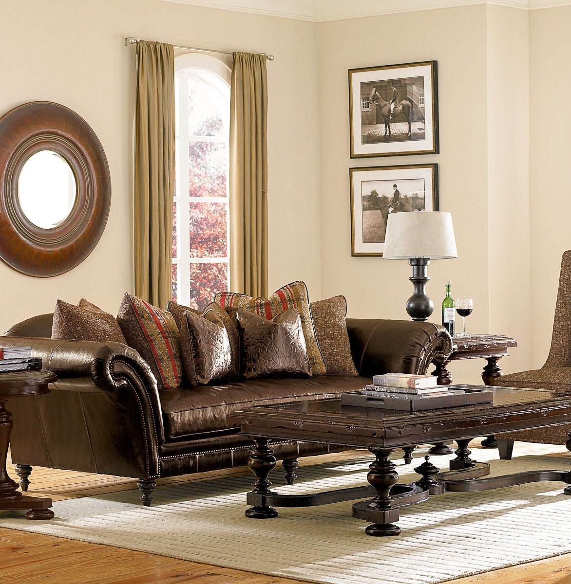 images about Living in Leather on Pinterest Sectional