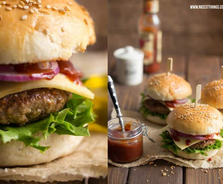das etwas andere hamburger fleisch recept keukenmiep pinterest burger burger rezept en brot. Black Bedroom Furniture Sets. Home Design Ideas