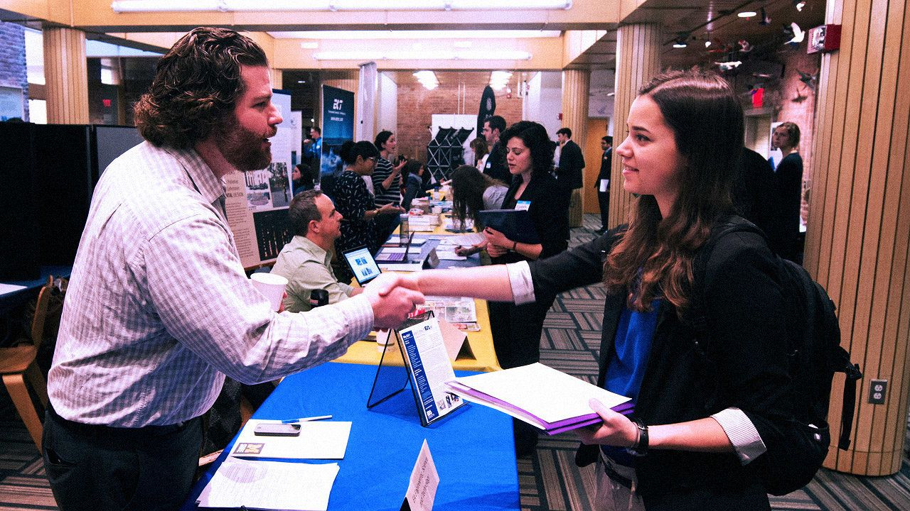 How To Actually Land Interviews From A Job Fair Job fair
