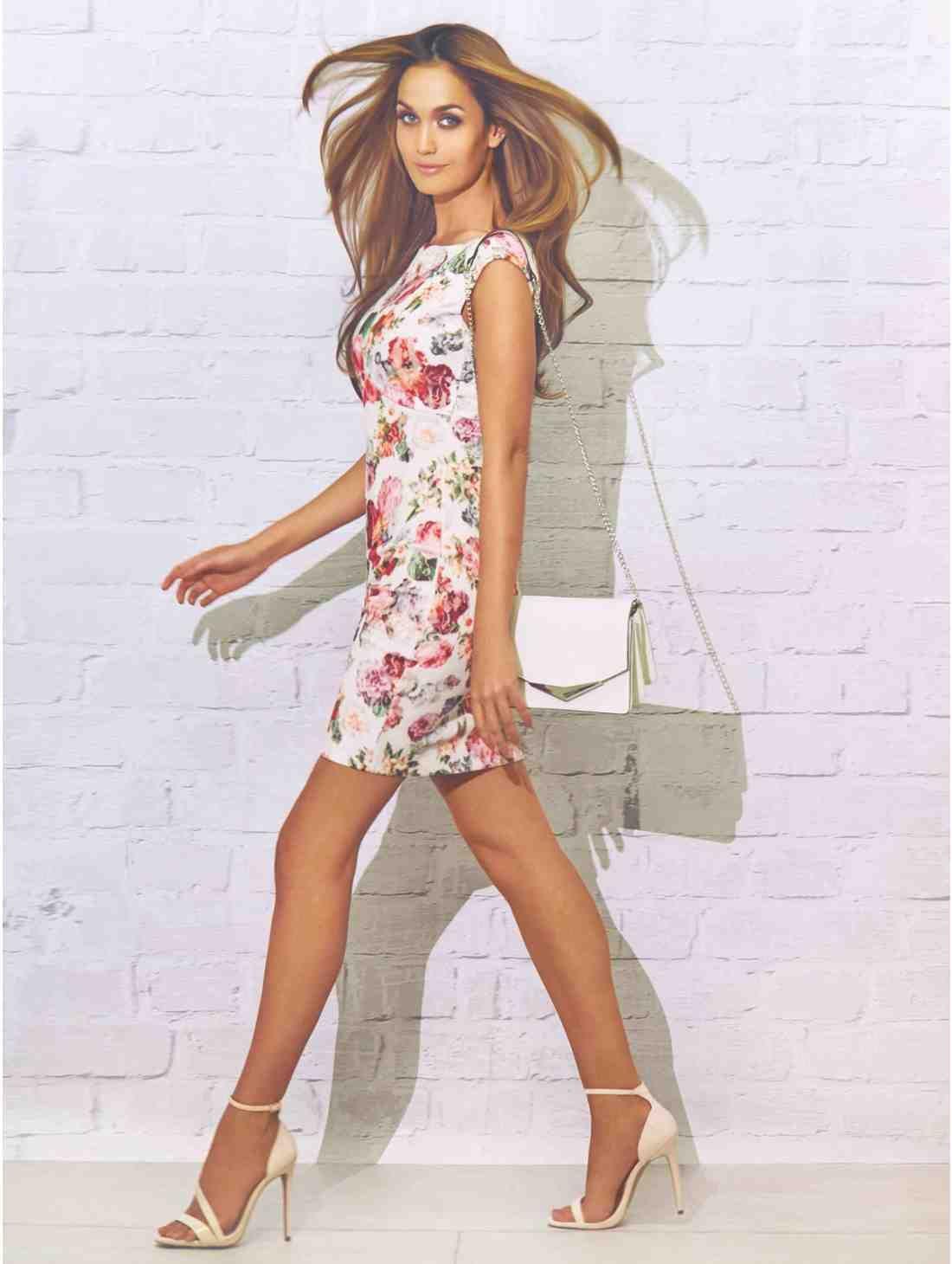 Fl Lace Bodycon Dress Jane Norman