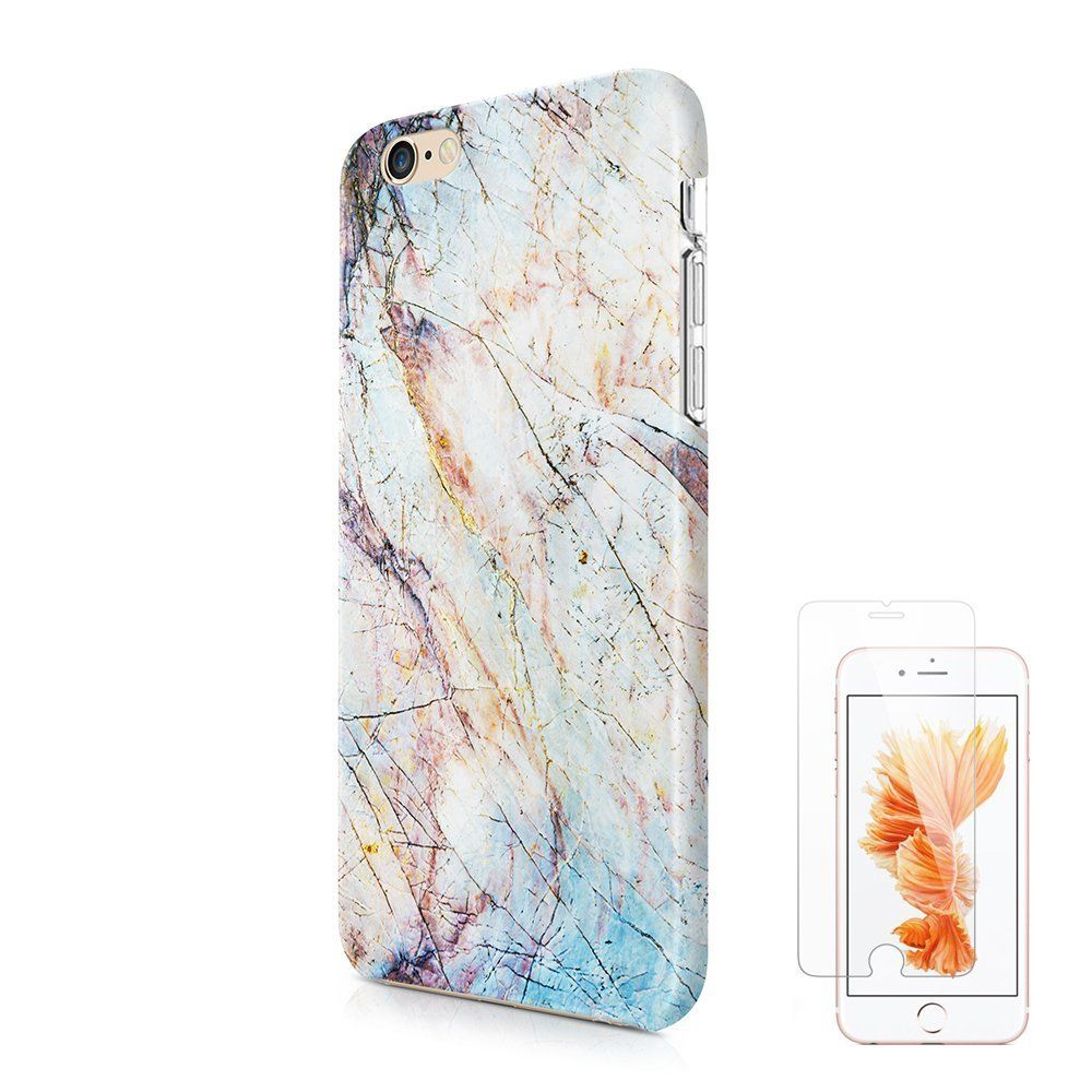 Grunge marble iphone 6 6s protective case ucolor nature