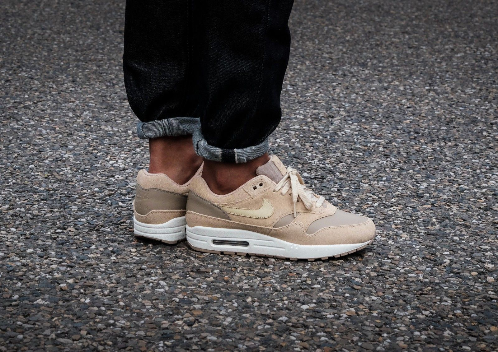 nike air max 1 leather premium khaki team gold & mushroom recipes