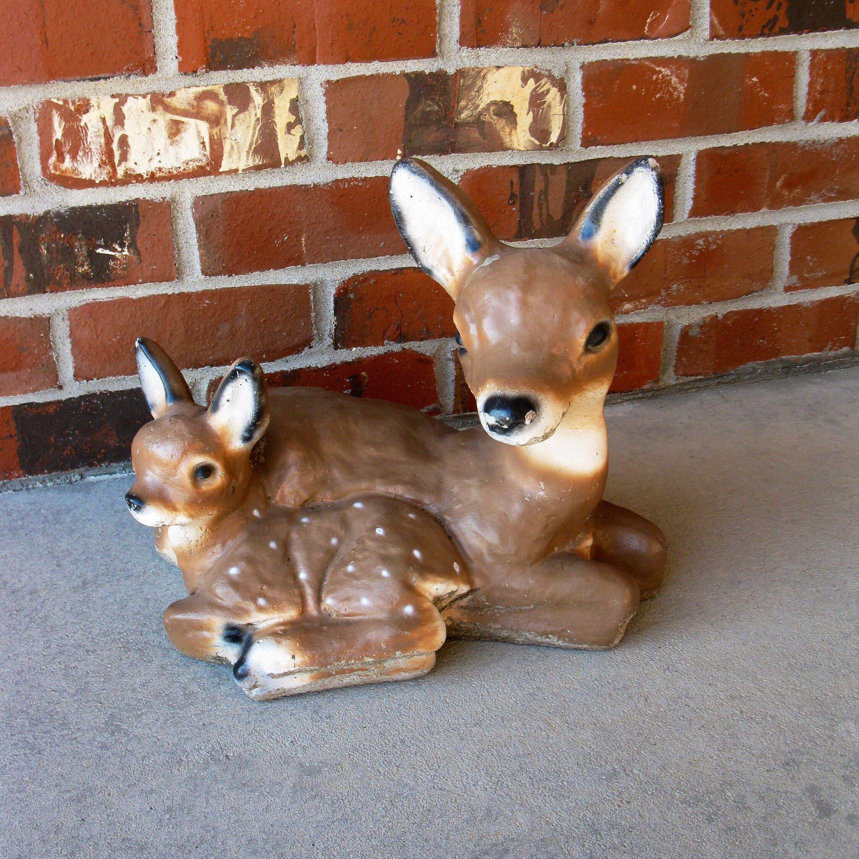 Concrete Statuary Concrete Deer Deer Concrete Lawn Ornaments