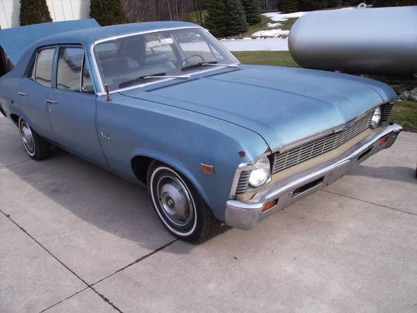 1969 Chevy Nova 4 Door Great Driver Erie Pa 2900 Image 1 Of 3 1969 Chevrolet Nova Condition Goodcylinders 6 Cylind Chevy Nova Chevrolet Nova Chevy