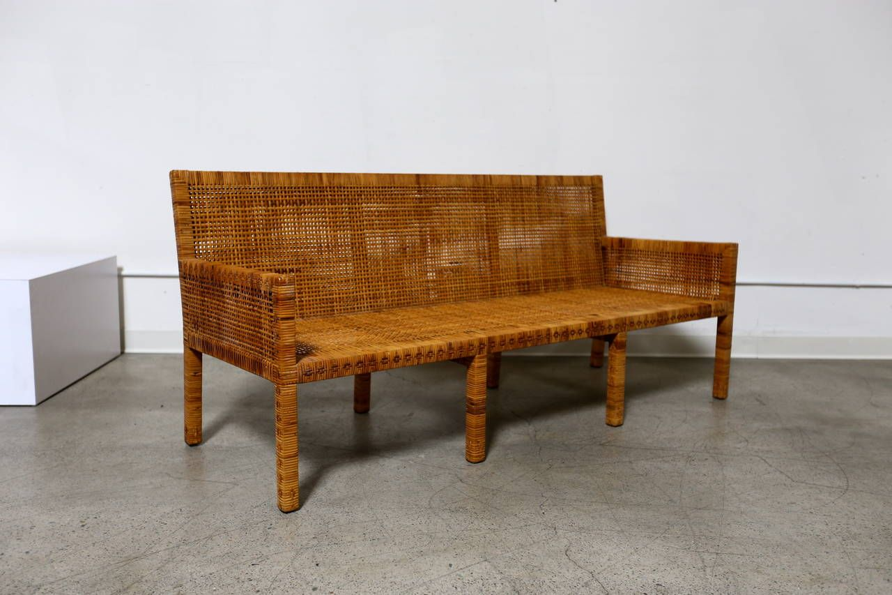 Cane Sofa by Danny Ho Fong | Cane sofa and Modern