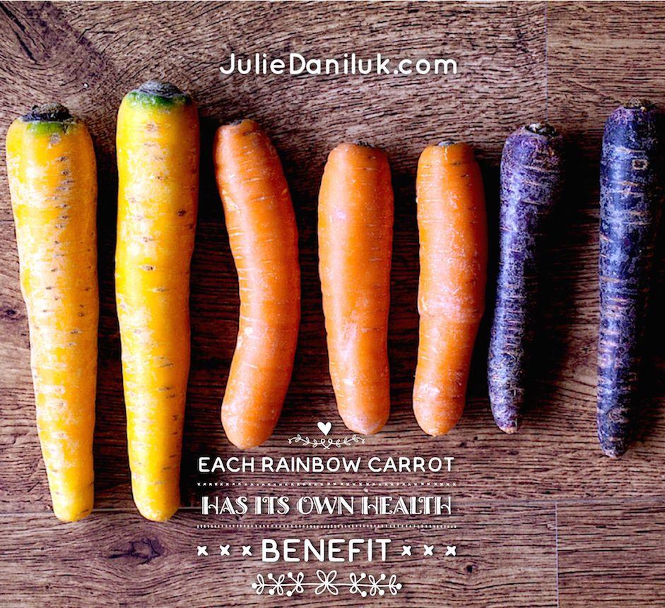 Rainbow Carrots Offer More Than Beauty Rainbow Carrots Health Benefits Of Carrots Carrot Benefits