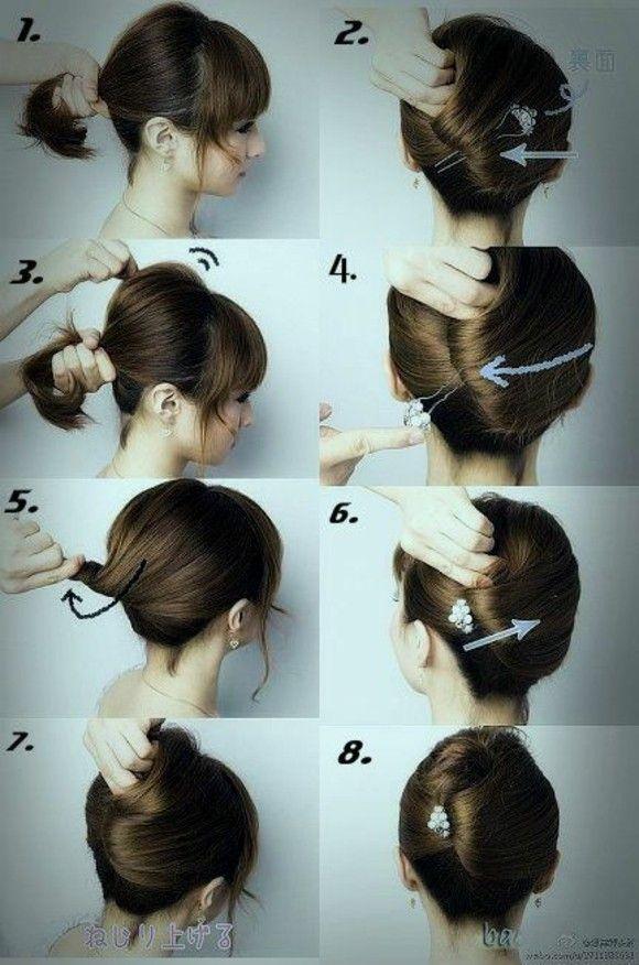 Peinados Rapidos Y Faciles Para Cualquier Ocasion Cabello Hair