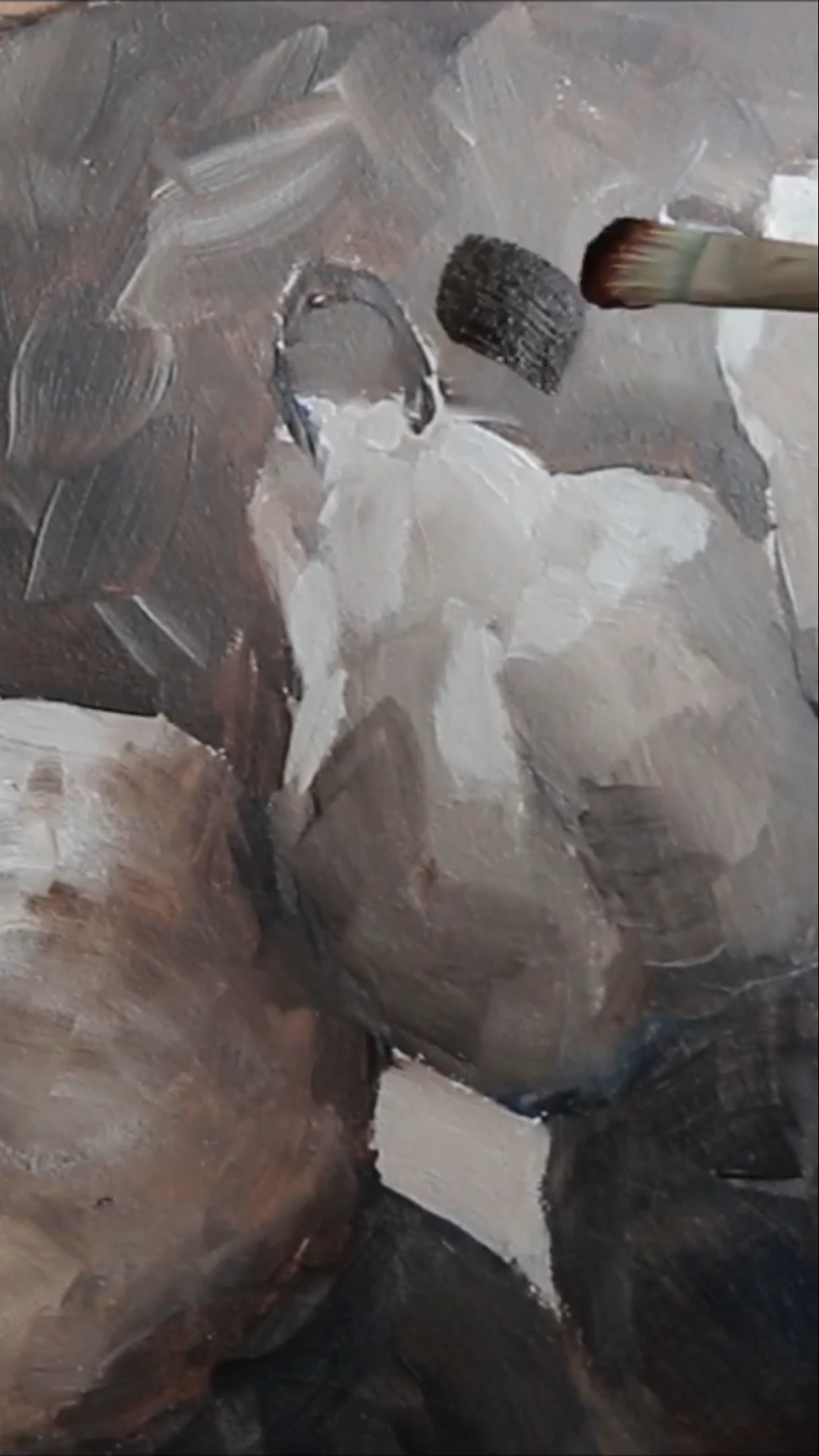 A full two part lesson plus video. Why paint with oils over acrylics? In these two demonstration videos I will show you how to prepare an acrylic underpainting. Then complete the painting in beautiful oils.