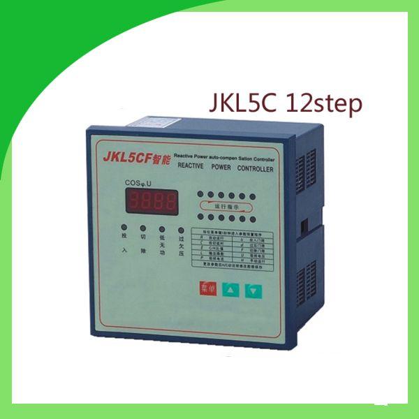 Jkl5c Power Factor Corrector Reactive Power Auto Compensation Controller For Capacitor 12step 380v Prcf Capacitor Power Compensation