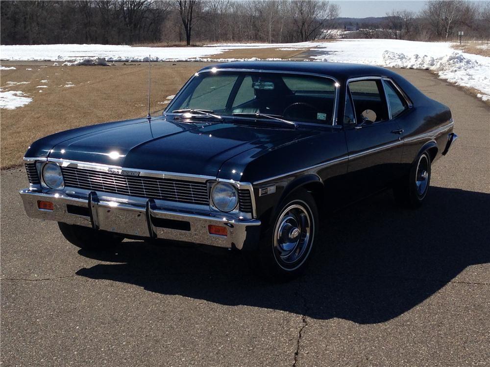 1968 Chevrolet Nova Chevrolet Nova Chevrolet Barrett Jackson