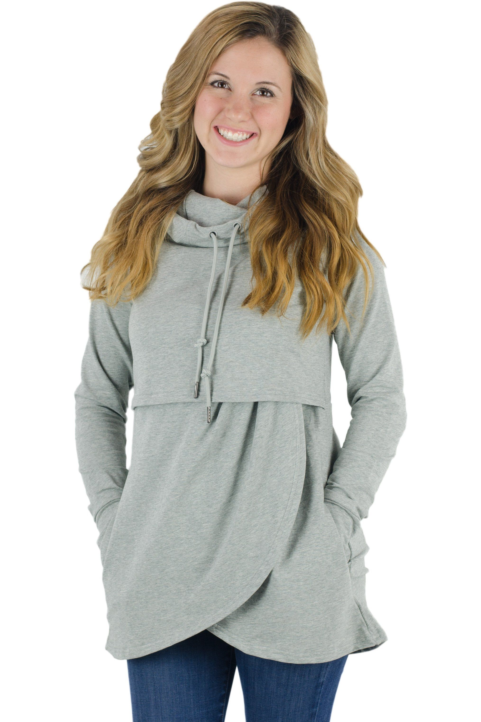 290592eb7b697 Petal Front Nursing Hoodie | Products | Nursing pajamas, Hoodies ...