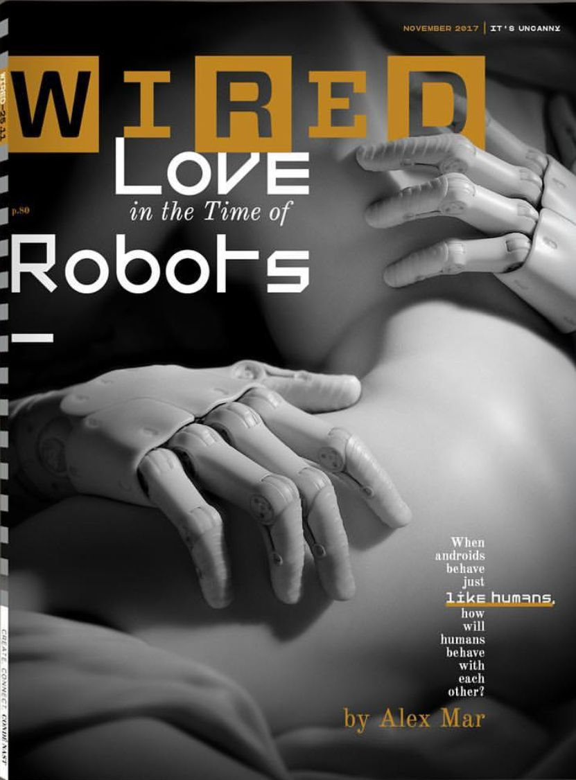 WIRED US magazine cover, Nov 2017. | Best of Editorial Design ...