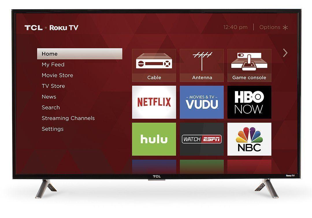 TCL 40S305 40Inch 1080p Roku Smart LED TV (2017 Model