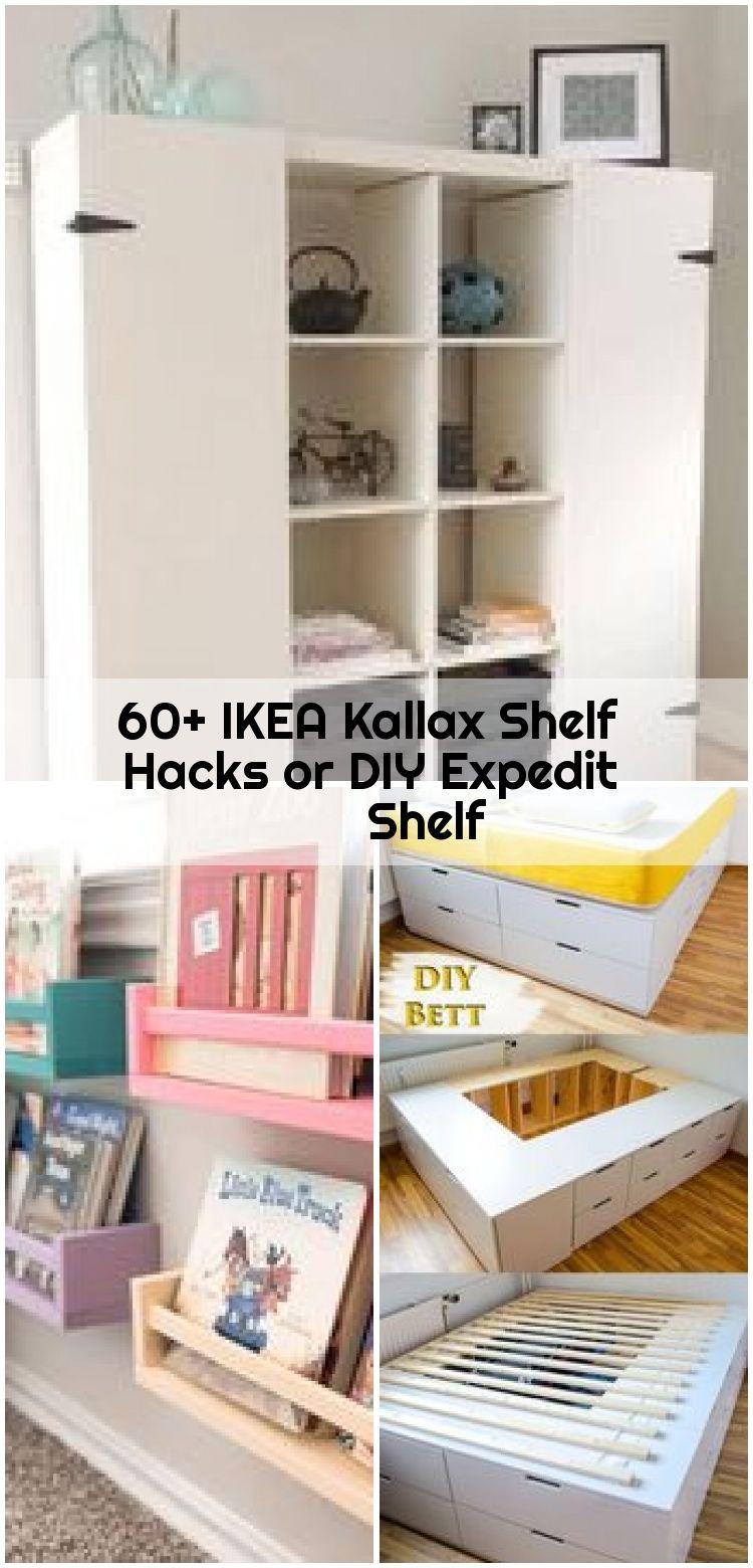 60 Ikea Kallax Shelf Hacks Or Diy Expedit Shelf