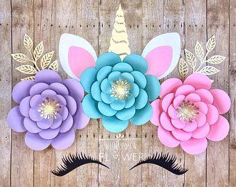 Unicorn Party, Unicorn Decorations, Unicorn Backdrop, Unicorn Birthday, Unicorn Flower Backdrop, Unicorn Birthday Decorations, Unicorn Decor