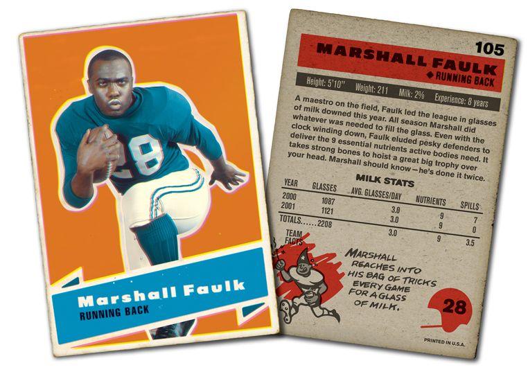 Nfl Marshall Faulk Got Milk