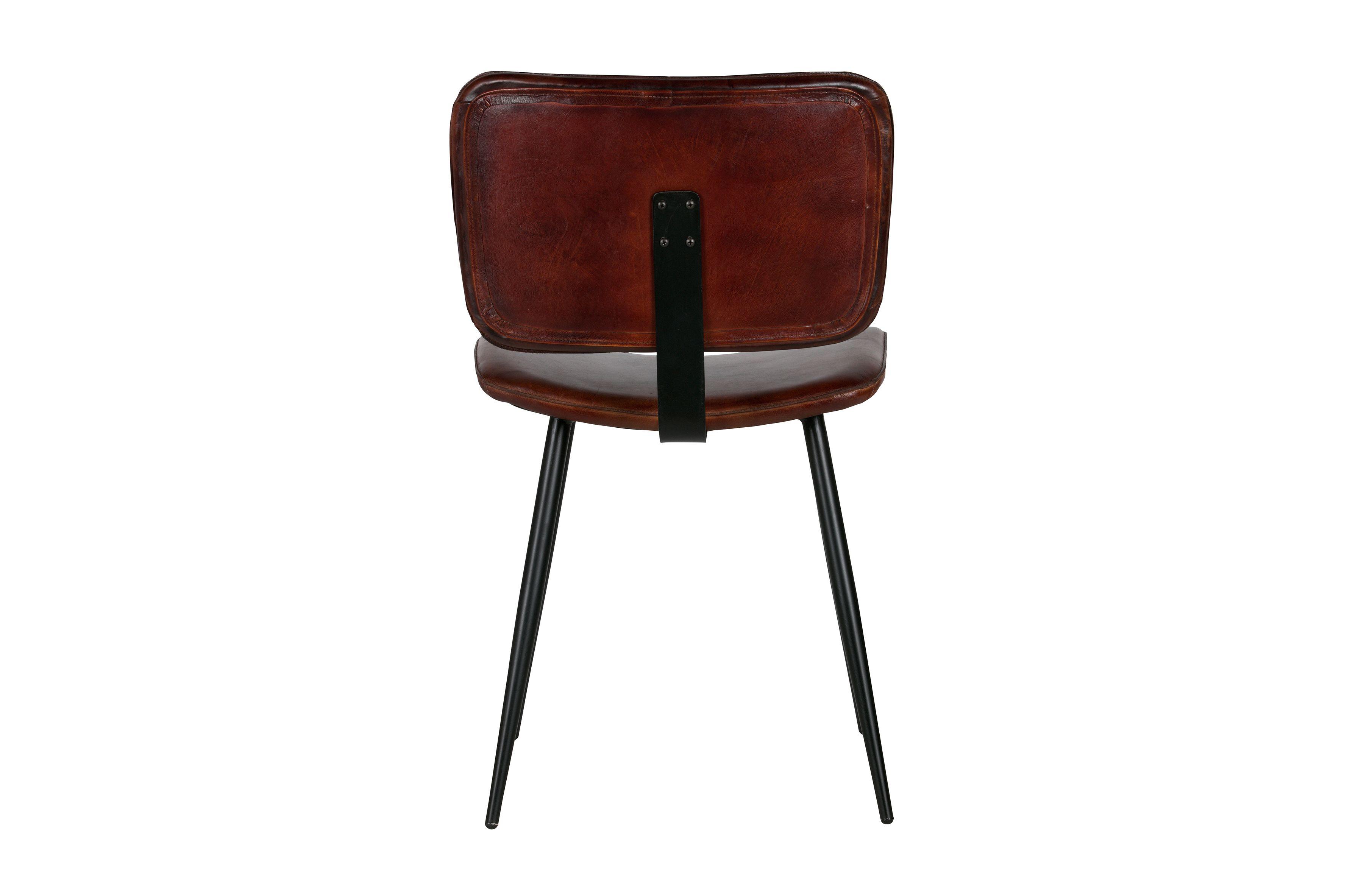 Cognac Kleur Stoel : Cognac kleur stoel deels leer onze collectie tafels en stoelen