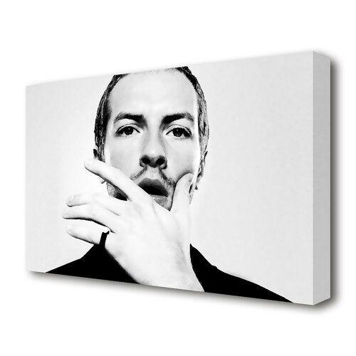 Leinwandbild Cold Play Chris Martin East Urban Home Größe 101 6 cm H x 142 2 cm B