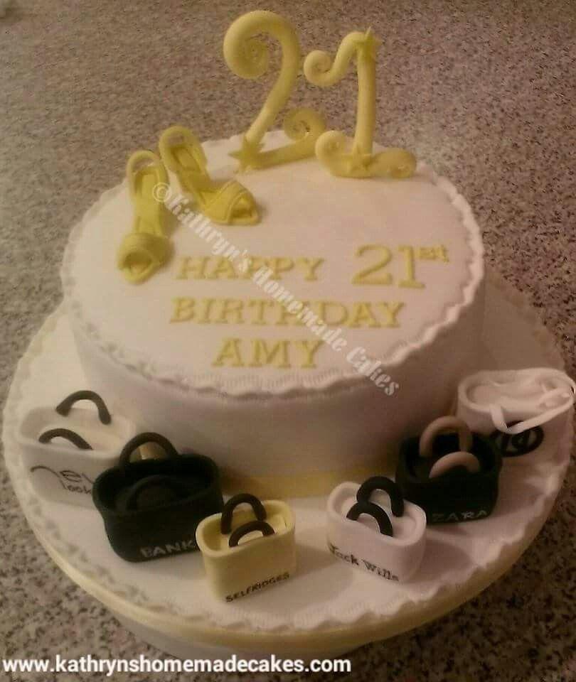 Shopaholic Birthday Cake Handbags And Shoes Pinterest Birthday