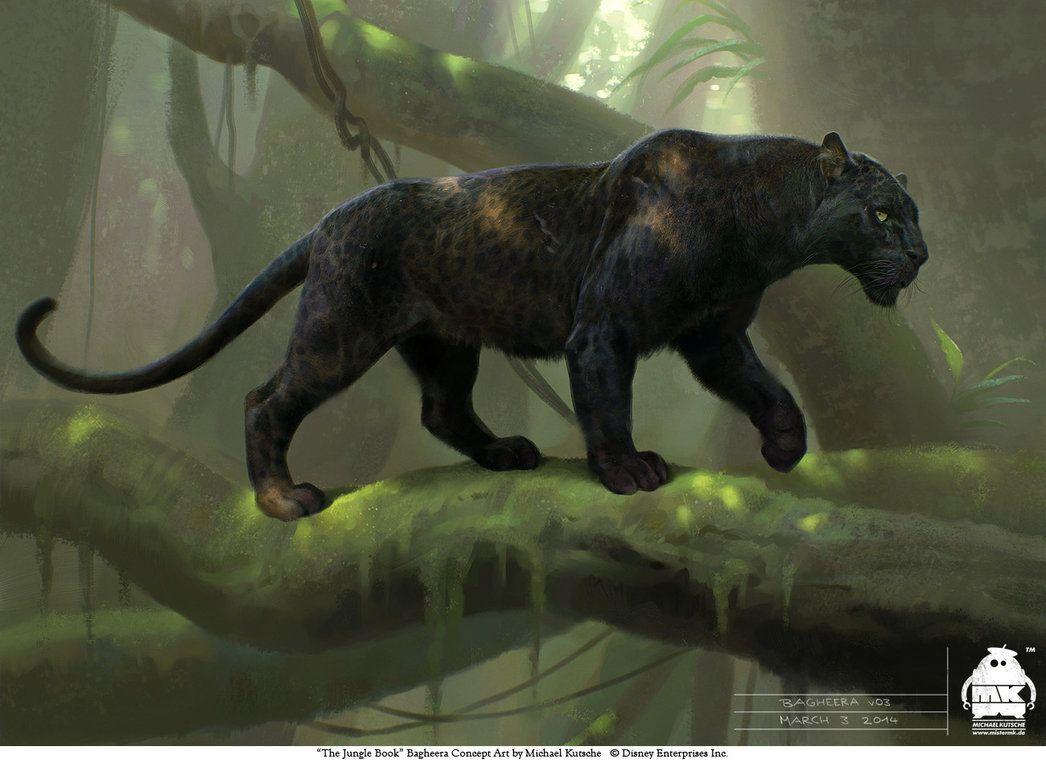 The Jungle Book Bagheera Concept By Michaelkutsche The Jungle
