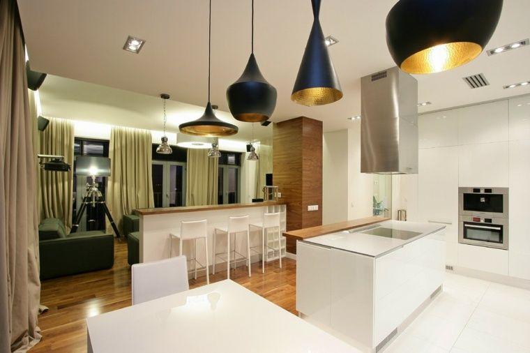 Meuble séparation cuisine salon en plus de 55 idées | Style ...