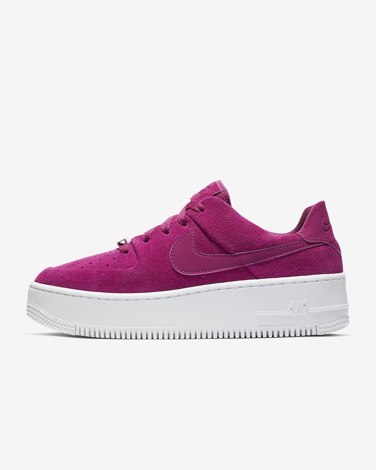 Nike WMNS Air Force 1 Sage Low Purple Release 2019