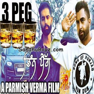 Download 3 Peg Sharry Maan Punjabi Sngle Track online on