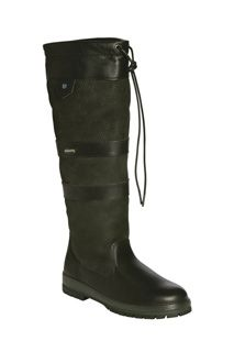 From Dubarry of Ireland- Gallway boot in black.  The classic Dubarry boot!  100% waterproof Gore-Tex lined, lug sole, and straight shaft.