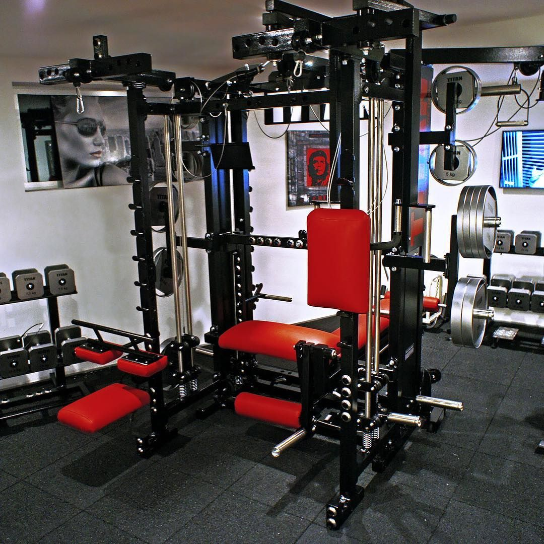 Home gym w a tytax machine use to be known as titan