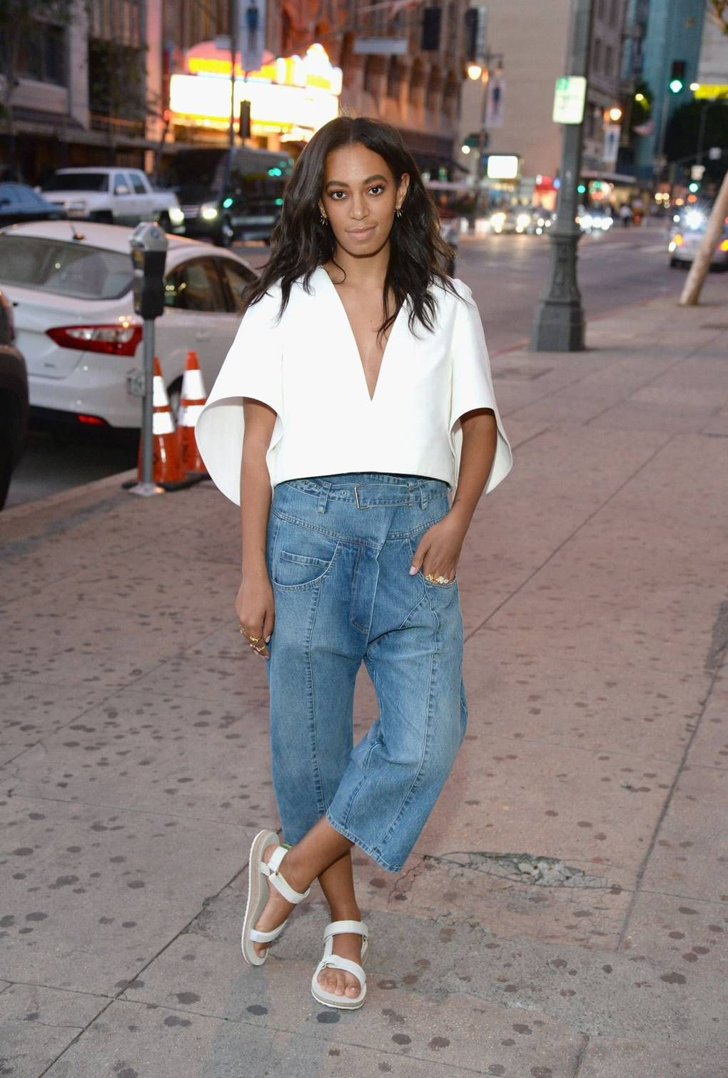 Solange Knowles's Street-Style Moments