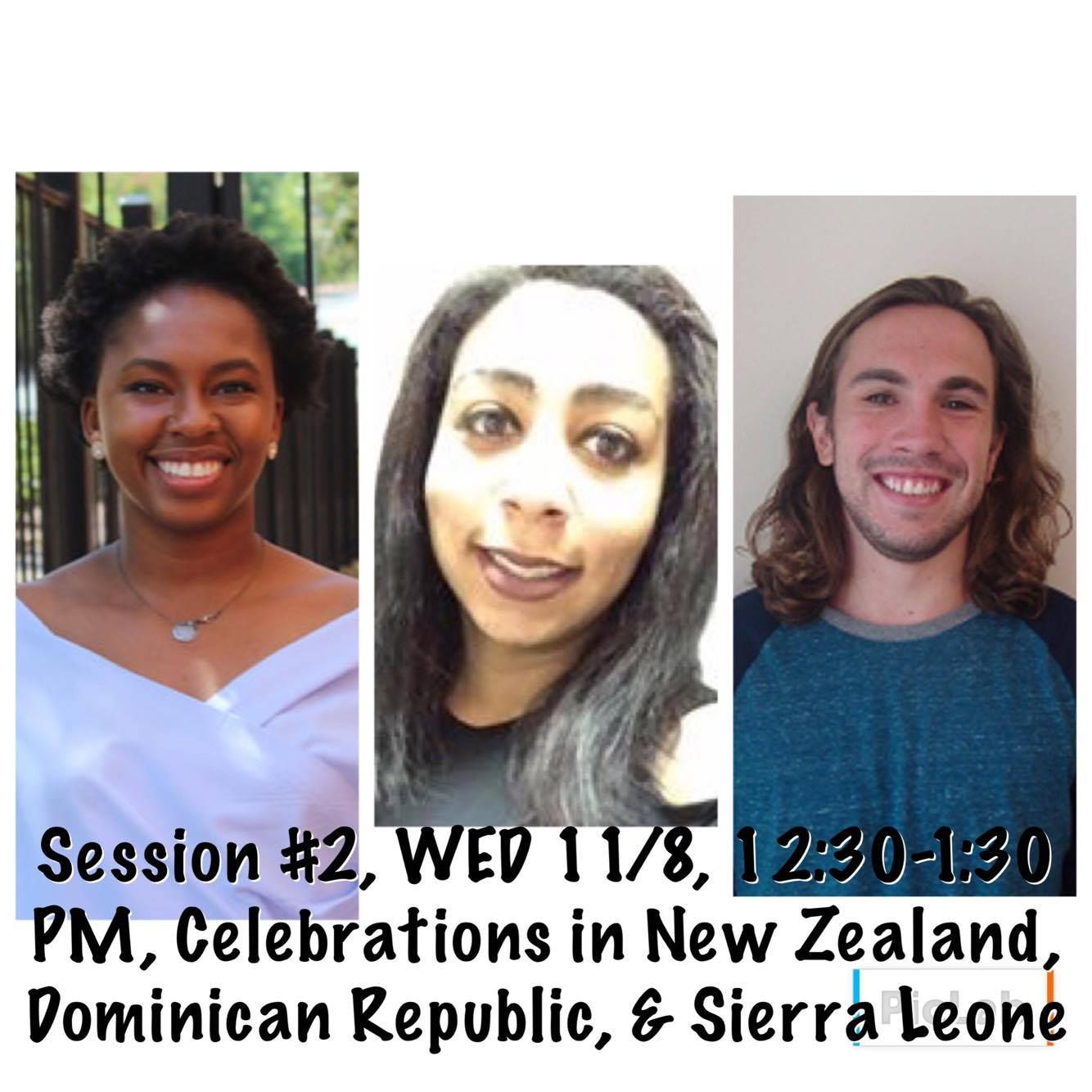 """Sign up for Virtual Cultural Festival SESSION 2:12:30-1:30 PM-""""Celebrations in New Zealand, Dominican Republic, and Sierra Leone""""! https://buff.ly/2z0GqdY?utm_content=buffer676c1&utm_medium=social&utm_source=pinterest.com&utm_campaign=buffer"""