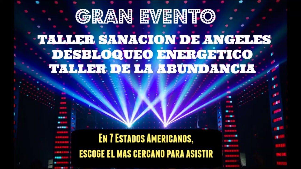¡Extraordinario Tour en 7 Estados Americanos, revisa el más cercano para ti!  TALLER SANACION DE ANGELES Desbloqueo Energético Y TALLER DE LA ABUNDANCIA 2016  TALLER en Dallas – Texas Mayo: 3 y 4 – 2016 de 5:00 pm a 9:00 pm (Consultas, desbloqueos y lecturas Privadas) en Dallas –TX: Mayo 3 y 4 de 9:00 am a 2:00 pm. Separa tu consulta personalizada.  TALLER en Los Ángeles – California: Mayo 8