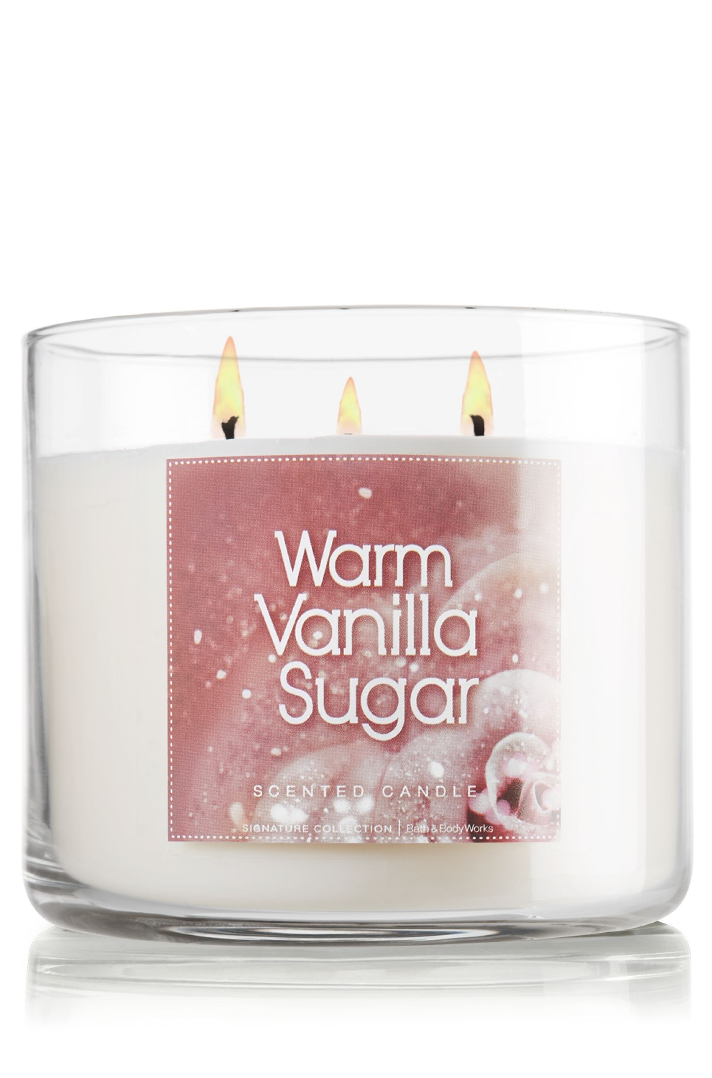 candle vanilla sugar cake