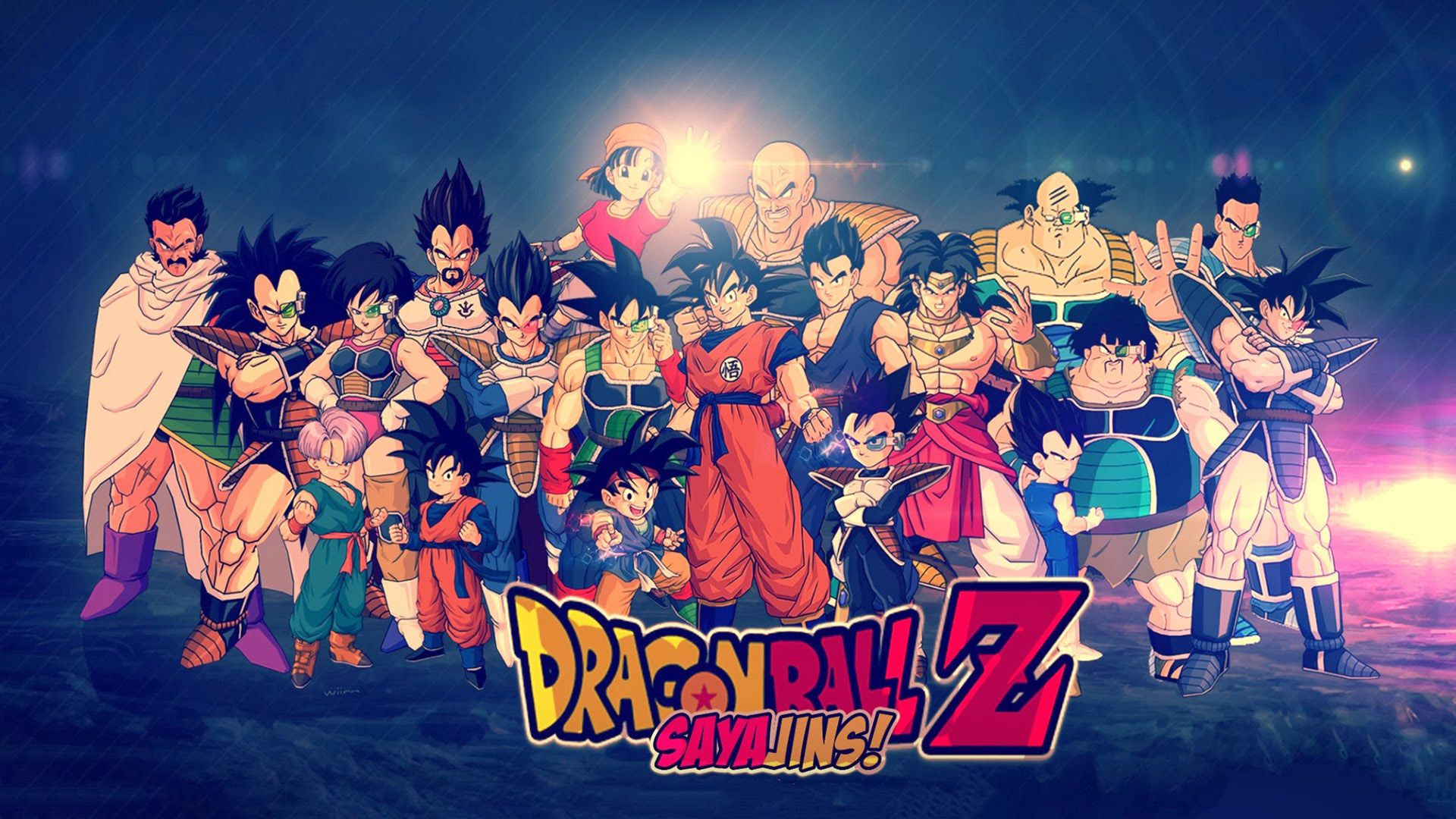 Dragon Ball Z Sayajins Wallpapers Imagenes Wallpapers Hd Dragon Ball Gt Dragones