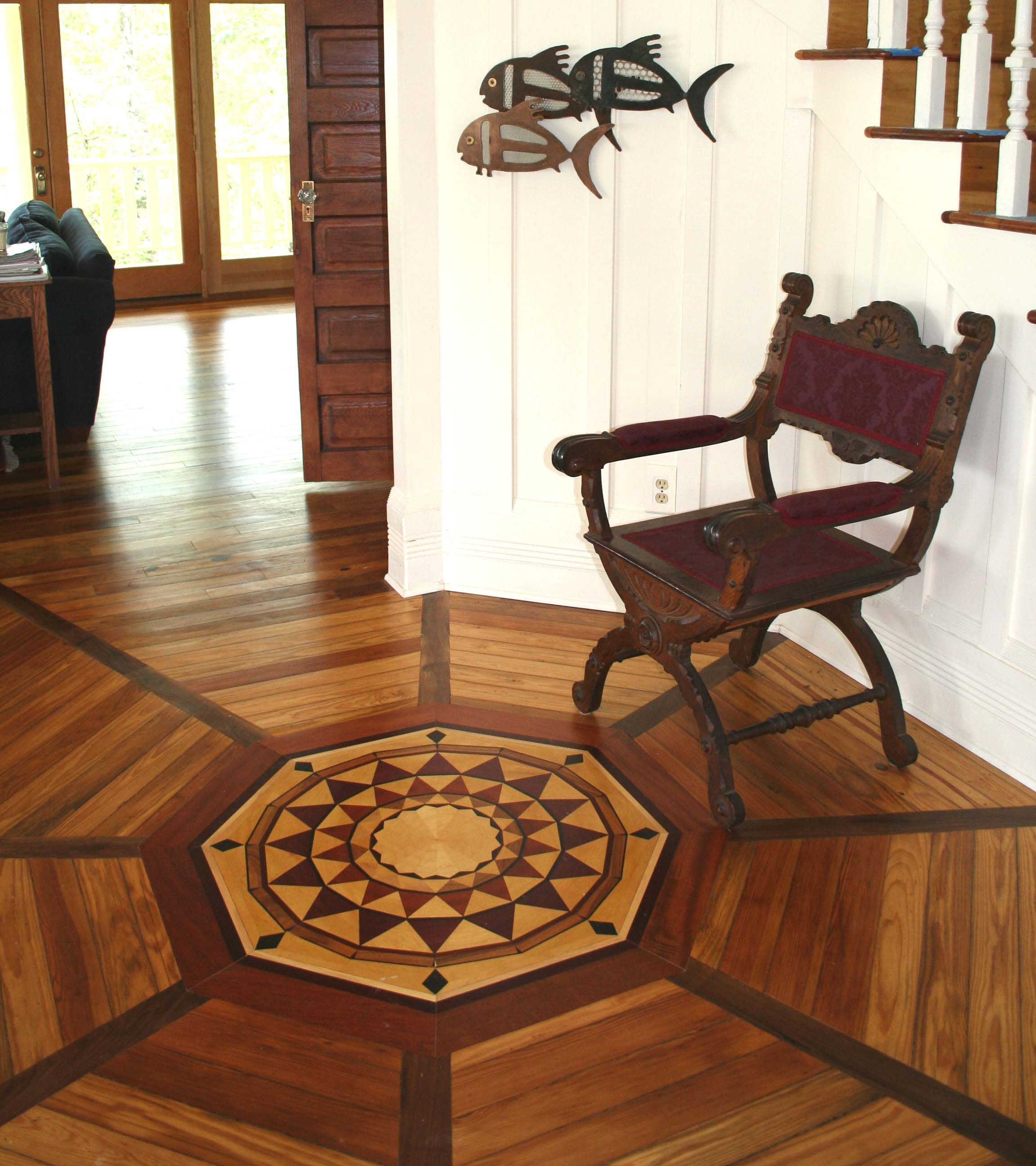 not just for salads: vinegar does wonders for wood floors | wood