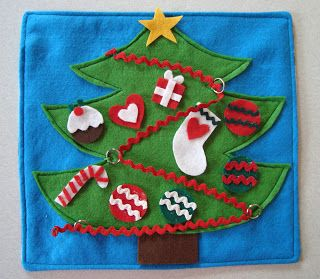 DIY Christmas ornaments Sewing pattern FELT CRAFTS booklet