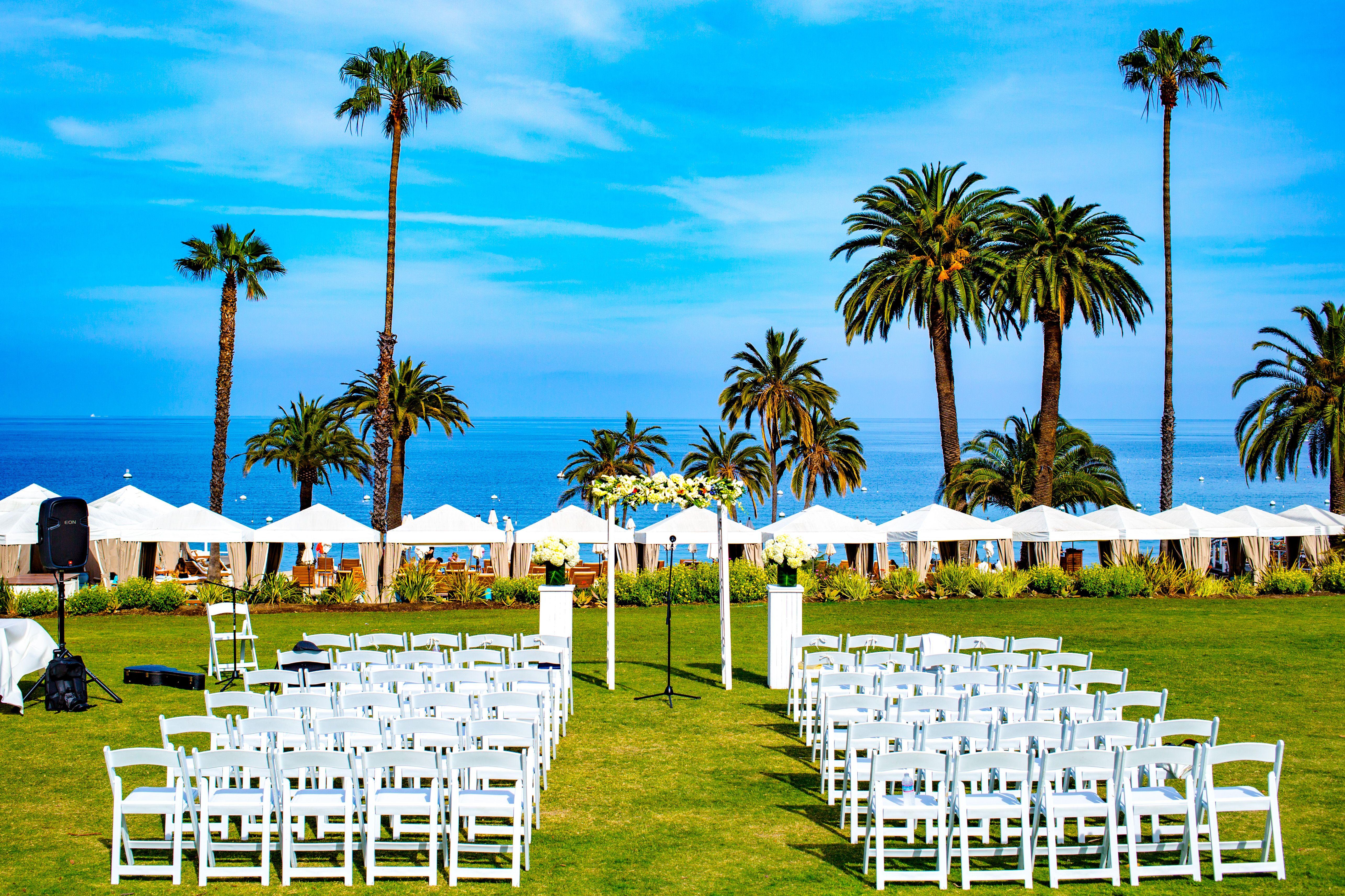 Destination Wedding Catalina Island Descanso Beach Club Planning Coordination By Db Creativity Ceremony Laura Dbcreativity