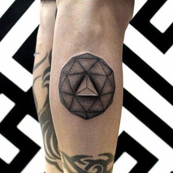 3d Tattoo By Chaim Machlev Berlin Germany