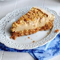 """Peanut Butter Ice Cream Pie I 