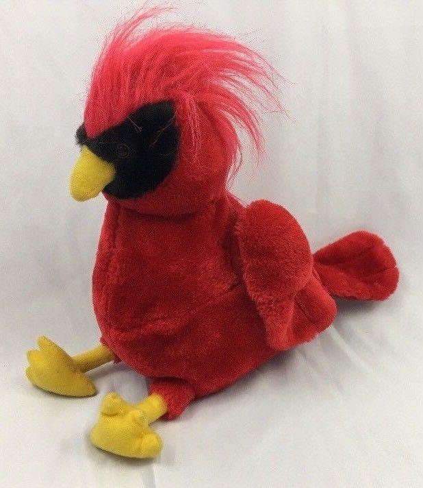 Cardinal Bird Plush Stuffed Animal Saint Louis Acm Red Cardinals