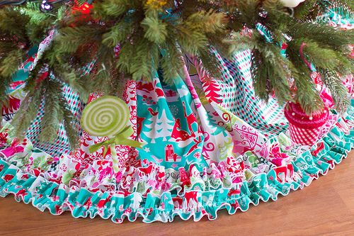 tree skirt tute