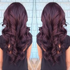 Dark Brown Purple Hair Google Search Hair Pinterest - Hair colour violet brown