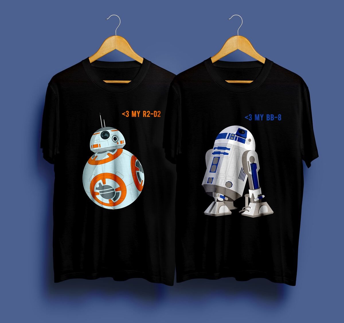 f976521f1 Star Wars Shirt Couple Tshirt Star Wars Shirt Boyfriend Girlfriend Gift  Husband Gift Couple Tee Matching
