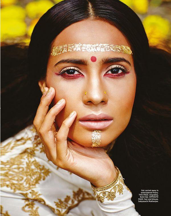 Bollywood Nerd Fashion Photoshoot Fashion Editorial Makeup Indian Bridal Fashion