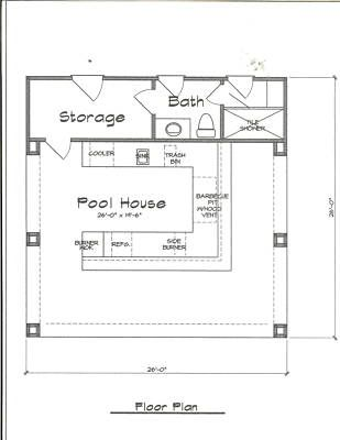 pool house plans complete home sweet home pinterest maison plan maison and plans. Black Bedroom Furniture Sets. Home Design Ideas