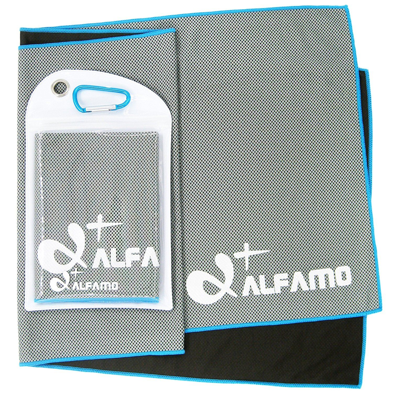 Amazon Com Alfamo Cooling Towel For Sports Workout Fitness