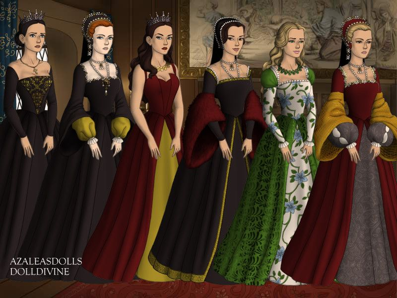 Henry VIII's first wives vs the Tudors queens by AngelicaRose24